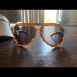 Christian Dior Aviator Sunglasses ❤️